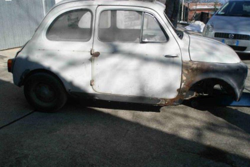 Fiat 500 d del 39 63 targhe originali da restaurare auto d - Compro vendo regalo la palma ...